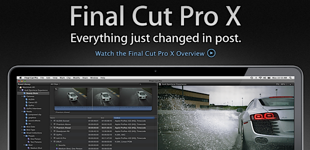 Final Cut Pro X - Tech Panorma