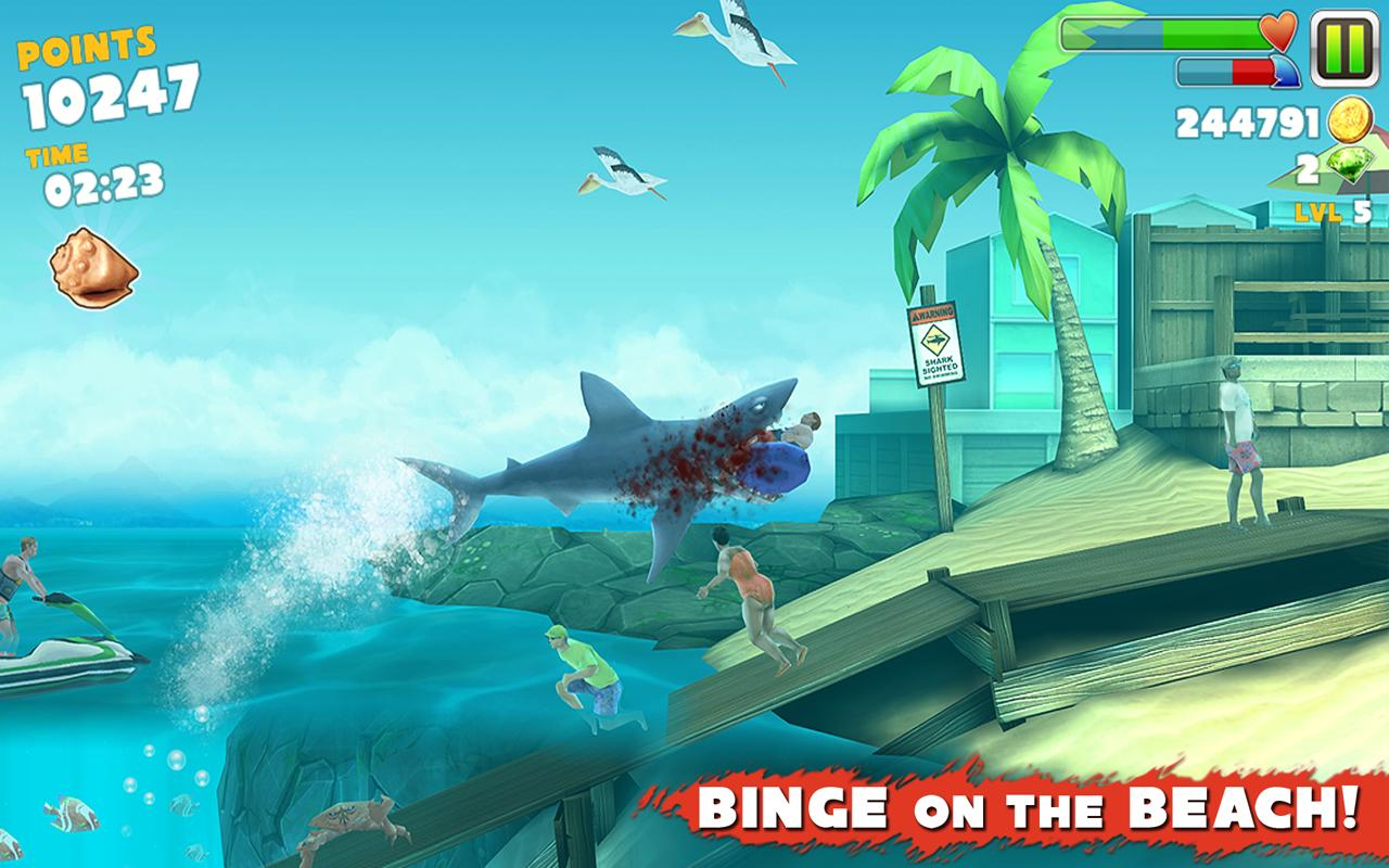 hungry shark online