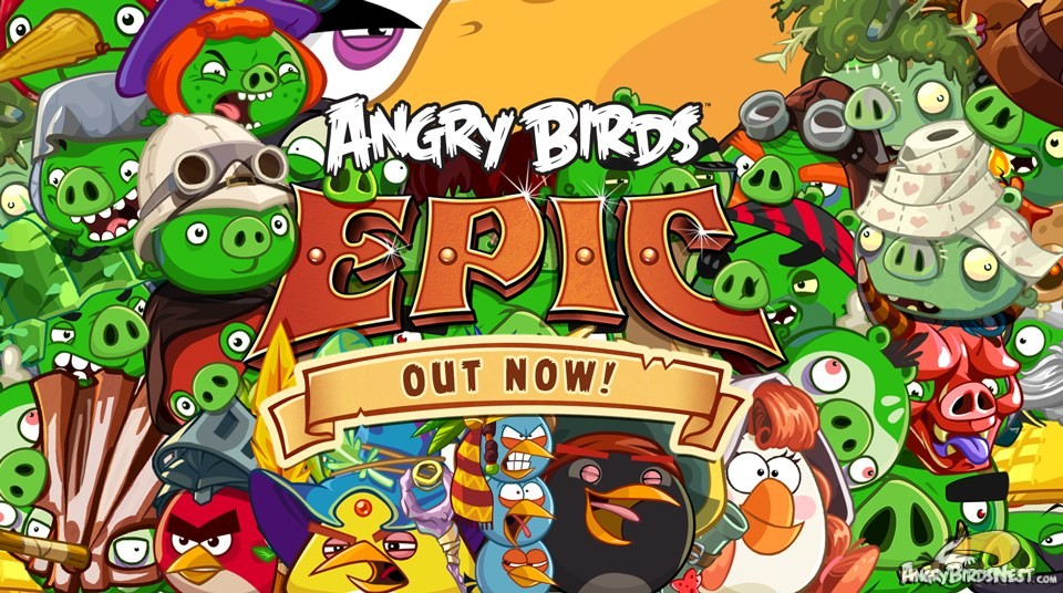 Angry birds epic для pc
