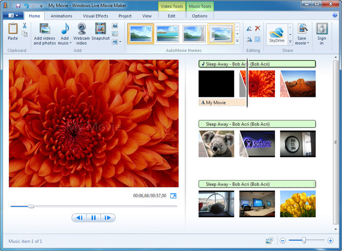 Windows Live Movie Maker - Tech Panorma