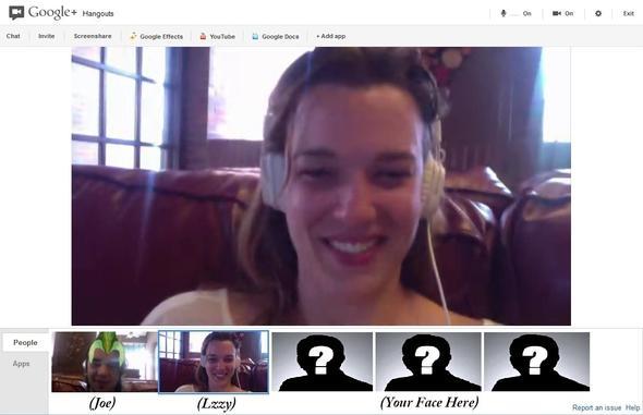 tech panorma - Google Hangouts