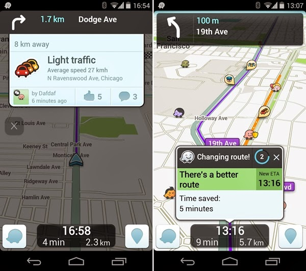 Waze social GPS Maps & Traffic-techpanorma