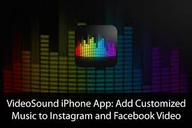 add music to video app iphone videosound iphone app add your favorite tune to 3192
